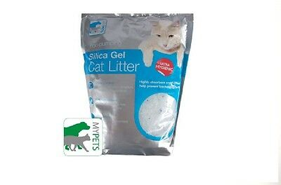 Silica Gel Cat Litter Bag Ultrahygienic Odour control 3.8L Toilet Tray kitten