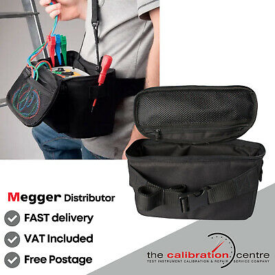 MEGGER MFT TEST & CARRY POUCH - SOFT CASE FITS MFT1710 MFT1720 & MFT1730 testers