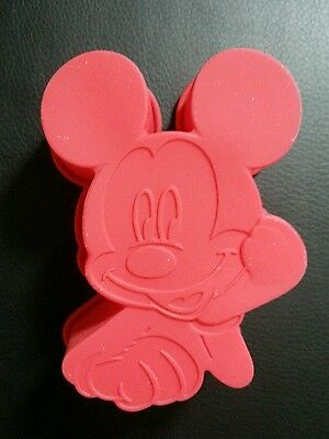 Disney Silikon  Mickey Mouse Backform Kuchenform Silicone Mold new Neu