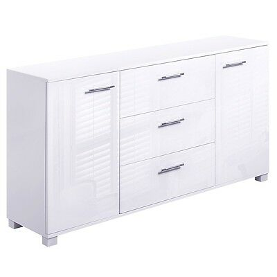 High gloss hall table sideboard aud picclick au for Sideboard 240