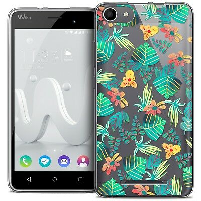 Coque Crystal Gel Wiko Jerry Extra Fine Souple Spring Tropical