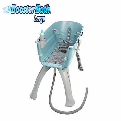 Booster Bath Large Pet Dog Grooming Washing Tub Groomer Wash Elevated Teal