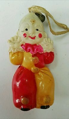 Vintage Celluloid Clown Circus Toy