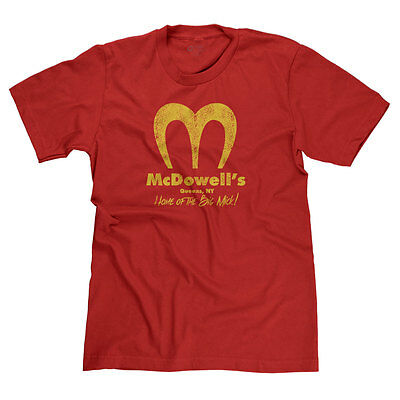 Mcdowell's Coming To America Randy Watson Mcdonald's Parody Funny T-Shirt Tee