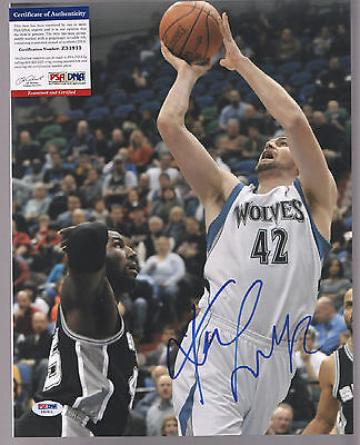 Kevin Love Signed Autographed 11X14 Photo Psa/dna #z31911 Timberwolves
