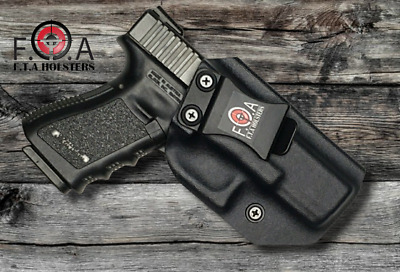 KYDEX IWB  HOLSTER Made With 0.080 Kydex. Inside The Waist Band Holster