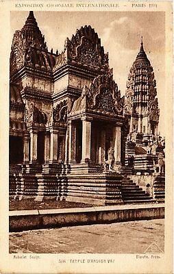 CPA Indochine Vietnam Expo colon. - Temple d'ANGKOR VAT (301325)
