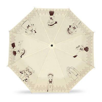 Japanese Anime Detective Conan Folding Umbrella Windproof Sun Protection Cosplay