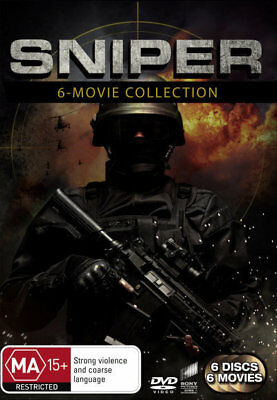 Sniper 1 2 3 4 5 6 Box Set Collection - Tom Berenger, Billy Zane DVD R4 New!