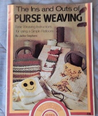 The Ins & Outs of Purse Weaving Basic Weaving Instructions with  Simple Flatloom
