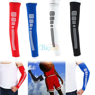New Compression Arm Elbow Sleeve Cover Protector For Basketball Running Exercise
