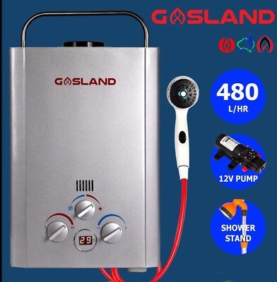 GASLAND Lux LPG Portable Gas Hot Water Heater Outdoor Camper Horse Wash Dog Wash