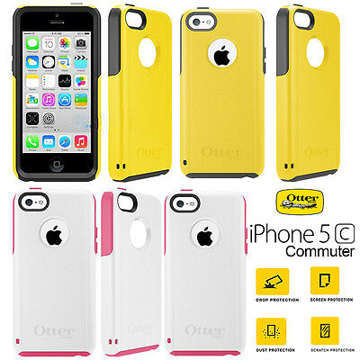 Genuine Otterbox Commuter Series Slim Case Cover Shockproof For Apple iPhone 5c