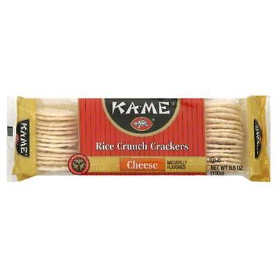 KA ME RICE CRKR CHEESE GF-3.5 OZ -Pack of 12