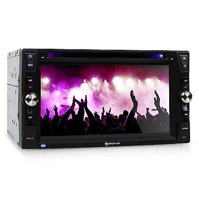 SUPER AUNA MVD-481 MONICEIVER DVD CD MP3 PLAYER BLUETOOTH USB microSD RDS 2DIN