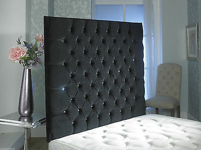 CHESTERFIELD WALL HEADBOARD IN 2ft6,3ft,4ft,4ft6,5ft,6ft !!!!NEW!!!!