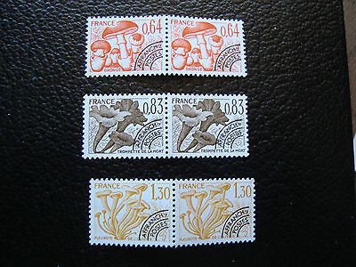 FRANCE - timbre yvert et tellier preoblitere n° 158 a 160 x2 n** (A24) stamp