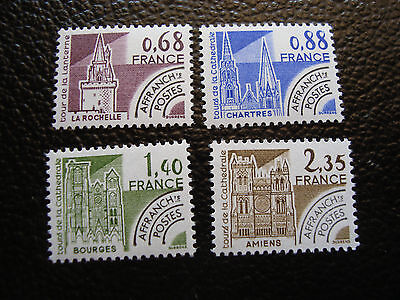 FRANCE - timbre yvert et tellier preoblitere n° 162 a 165 n** (A24) stamp