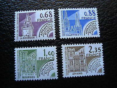 FRANCE - timbre yvert et tellier preoblitere n° 162 a 165 n** (A24) stamp (A)