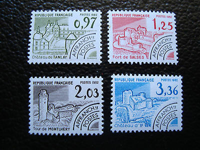 FRANCE - timbre yvert et tellier preoblitere n° 174 a 177 n** (A24) stamp