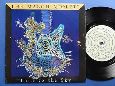 THE MARCH VIOLETS  TURN TO THE SKY Rebirth 86 A2B1 p/s 45 EX/EX