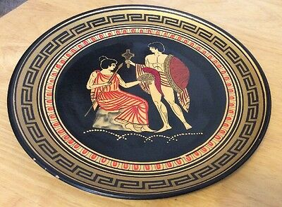 Handmade In Greece Decorative Plate