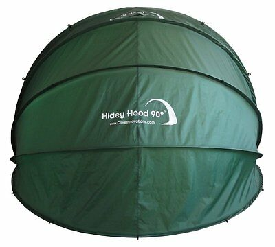 Rob McAlister Hidey Hood HIH90 Motorbike Protection Cover 90-Degree Wall-Mounted
