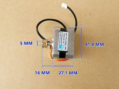DC12V 2-Phase 4-Wire 42mm 0.9° Stepper Stepping Motor with Pulley For 3D Printer