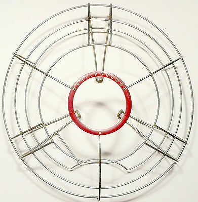 "Mid-Century Modern  WESTINGHOUSE  MODEL 16SD3 FAN part: 17 & 1/2"" FANBLADE CAGE"