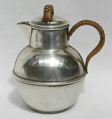 Vintage Silver Plate Jersey Milk Cream Jug Pitcher by William Gallimore & Sons
