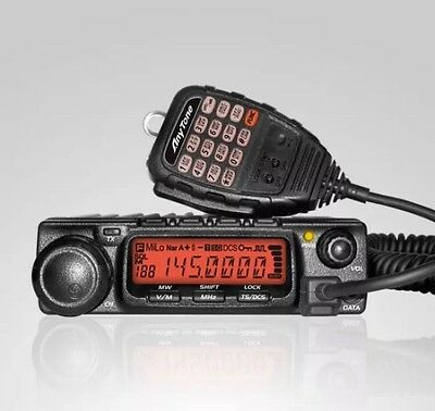 AnyTone AT-588 VHF 136-174MHz 60W 200CH DTMF Mobile Radio+Program Cable & Soft