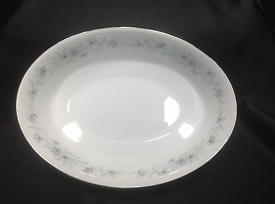 "Noritake N Inverness 6716 Fine China, 9"" Oval Vegetable Bowl EC"