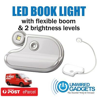 Flexible LED Reading Night Light for Book BookWorm Gift Library Portable Gadget