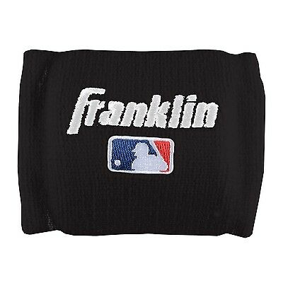 Franklin Sports MLB Baseball Terry-Cotton Wristband Wrist Guards Protect, 1-Pair