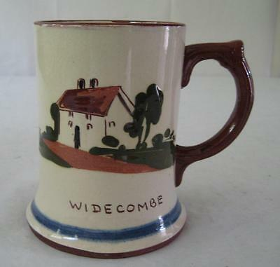 Large Motto Ware Widecombe Tankard