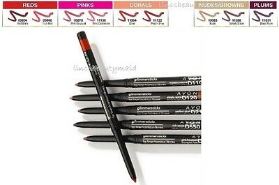 Avon Ultra Glimmerstick Lip Liner ~ Assorted Shades ~ New & Boxed