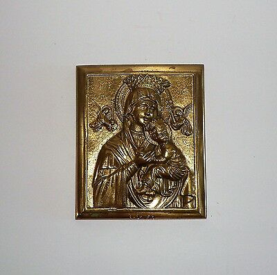 """Original  """" Our Lady Of Perpetual Help""""   Architectural Used  Icon  1871"""
