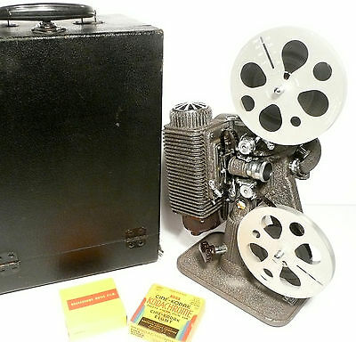 working 8mm REVERE MODEL 85 PROJECTOR - SlowMo / FreezeFrame / & Home Movies