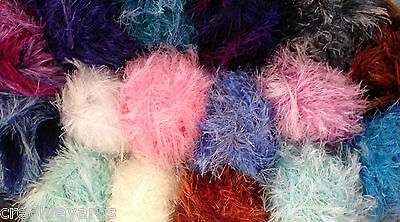 Funky Fur Magic SIRDAR Eyelash Knitting Wool 50gm Ball **FREE Pattern Included**