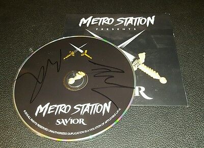 SWEET! Savior by METRO STATION Signed Autographed CD!