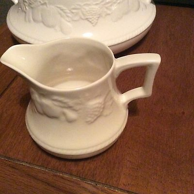 Bhs Lincoln Gravy Jug With Saucer