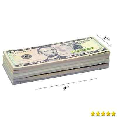 Real Looking US Play Money - 30 Bills of $1, $5, $10, $20, $50, & $100 - New