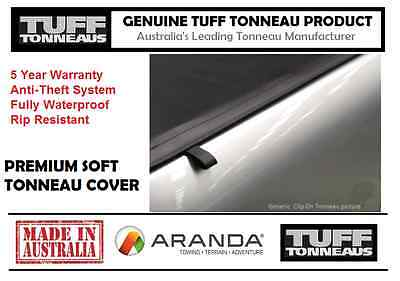 Soft Tonneau Cover (Clip On Type) MAZDA BT50 DUAL CAB UP (11-16)