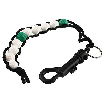 1 x Golf Beads green Stroke Shot Score Counter Keeper with Clip