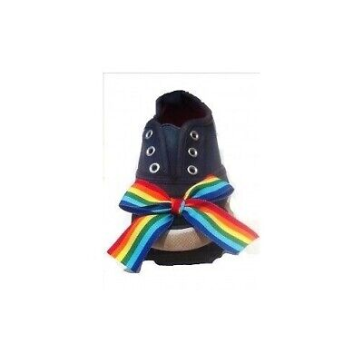 DANCING FEET Tap Shoes DANCE Attachments Elastic KIDS Toy PRETEND PLAY RAINBOW