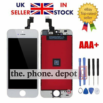 Replacement For iPhone 5S LCD Display Touch Screen Digitizer Full Assembly White