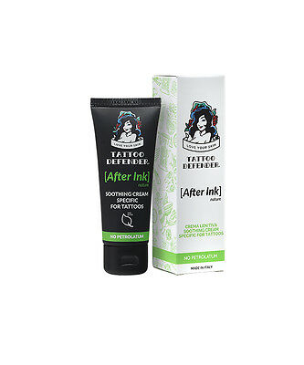 AFTER INK NATURE - Crema lenitiva tatuaggio Tattoo Defender