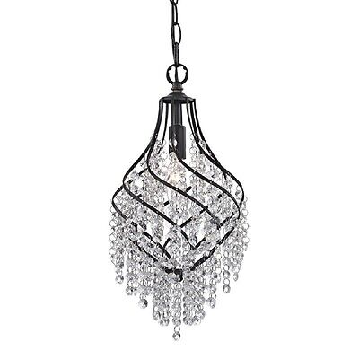 Crystal Drop Mini Chandelier Pendant French Country Vintage Style Light 122-018