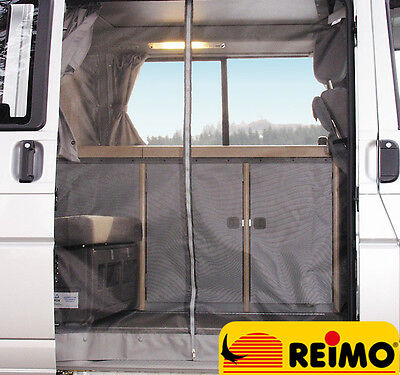 REIMO Mosquito Midge Insect Net for VW T4 Sliding Door Camper (2003+) FREE P&P