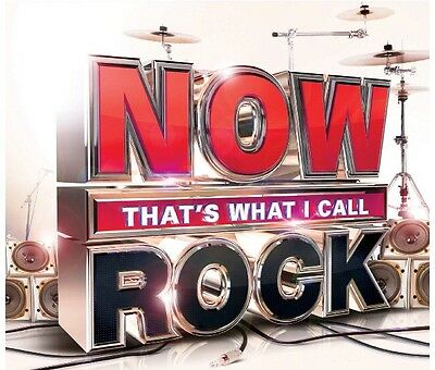 Various Artists: Now That's What I Call Rock (2014) NEW SEALED 3CD